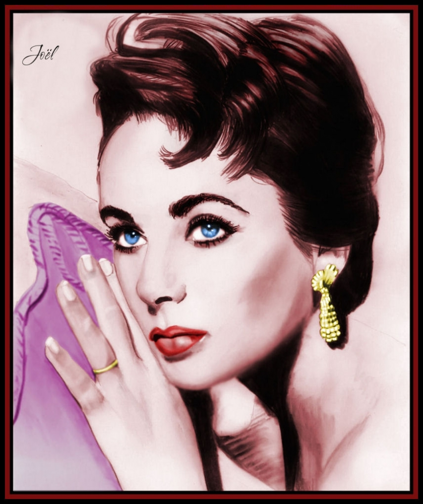 Elizabeth Taylor by klk68